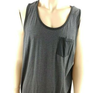 Old Navy Men's Black Pocket Front Tank XXL